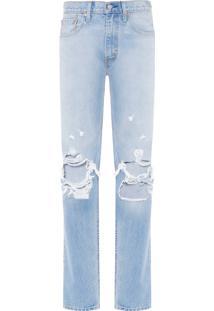 Calça Masculina 502 Regular Taper - Azul