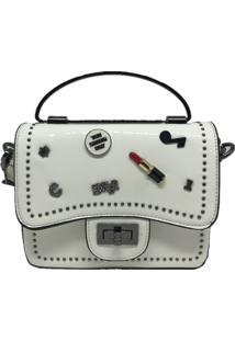 Mini Bolsa Casual Importada Sys Fashion 8309 Branco