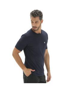 Camiseta Timberland Dunstan Rvr Pocket Tee - Masculina - Azul Escuro