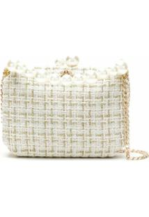 Isla Bolsa Clutch Tweed - Neutro