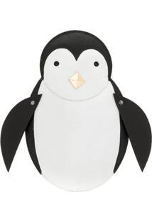 Sarah Chofakian Carteira De Mão 'Pinguim' - Preto