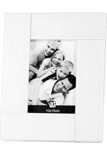 Porta Retrato Lumiere 10X15 Cm Branco Art Image