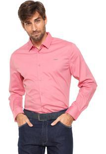 Camisa Colcci Slim Lisa Rosa