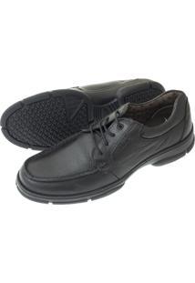 Sapato Sândalo Cadarço Preto