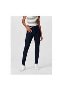 Calça Jeans Feminina Super Skinny Com Elastano