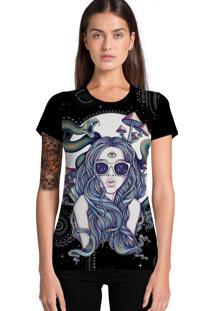 Camiseta Ramavi Fashion Snake Preta