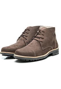 Bota Arauak Boots Montreal Pespontos Marrom