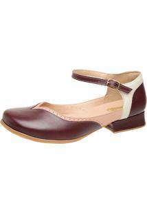 Sapato Feminino Miuzzi Chilli / Rosê / Off White Ref: 3212 - Kanui