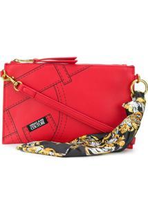 Versace Jeans Couture Clutch Com Estampa - Vermelho