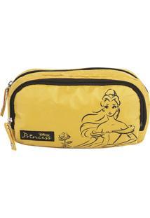 Necessarie Retangular Dermiwil Princesas Bela Amarelo 37235