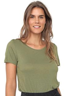 Blusa Cantão Básica Verde