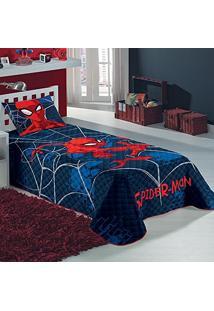 Colcha Matelassê Spider Man Homem Aranha 1,50 X 2,10M Lepper