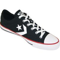 ed9eb322a7 Tênis Converse All Star Player - Masculino-Preto+Branco