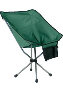 Cadeira Dobrável Guepardo Portátil Joy 600D Verde