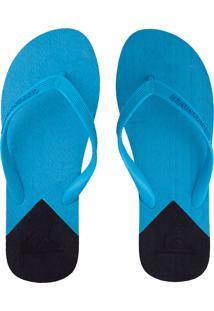 Chinelo Quiksilver Molokai New Wave Azul