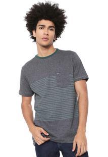 Camiseta Volcom Especial Threezy Cinza