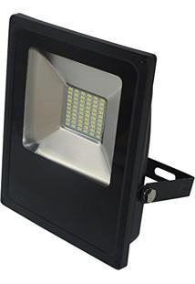Refletor Led Slim 30W Luz Branca 6.000K Bivolt-Blumenau-74306000