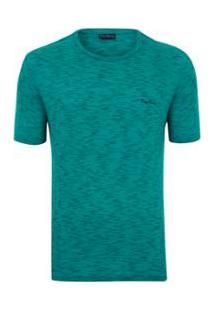 Camiseta Pierre Cardin Travel - Masculino-Verde