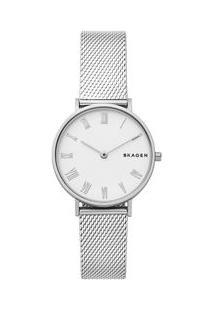 Relógio Skagen Feminino Hald Prata