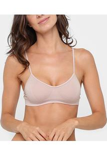 Top Trifil Basic - Feminino-Bege