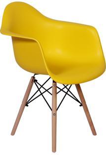 Cadeira Império Brazil Charles Eames Wood - Daw
