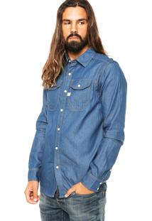 Camisa G-Star Wolker Azul