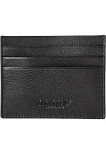 Carteira Timberland Credit Card Holder - Masculino-Preto