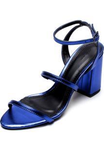 Sandália Dafiti Shoes 9 Anos Edição Limitada Azul