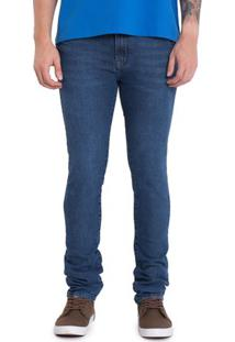 Calça Jeans Medium Blue Skinny
