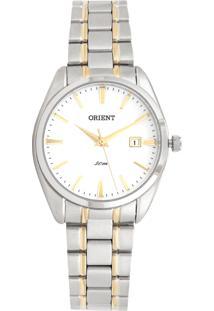 333fbeaa845 Relógio Digital Dourado Orient feminino
