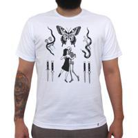 eb7b8d32d1 Flashes Tattoo - Camiseta Clássica Masculina