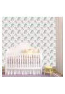 Papel De Parede Adesivo - Unicórnio Baby Bebe - 307Ppb