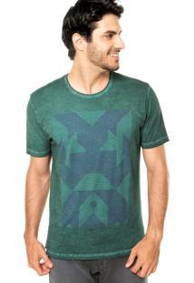 Camiseta Mandi Estampa Verde