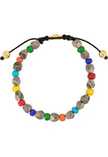 Nialaya Jewelry Pulseira Com Contas - Estampado