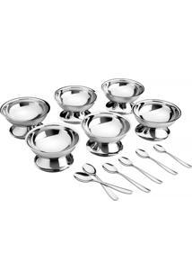 Kit Para Sobremesa Aço Inox 12 Pç. - Service - Tramontina