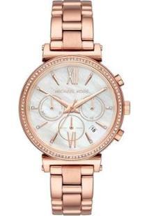 Relógio Michael Kors Feminino Sofie - Mk6576/1Jn Mk6576/1Jn - Feminino-Bronze