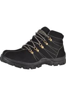Bota Adventure Masculina - Difranca Boots - 1011 - Preta