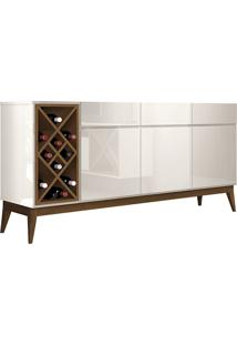 Buffet Passion Off White/Naturale Edn Móveis - Tricae