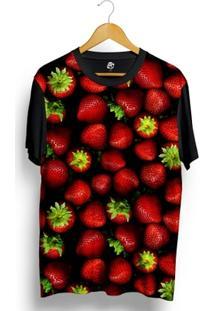 Camiseta Bsc Strawberry Full Print - Masculino