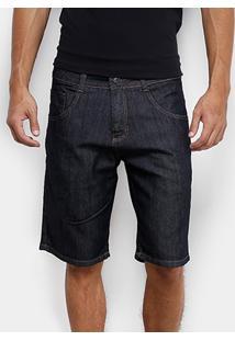 Bermuda Jeans Biotipo Escura Masculina - Masculino-Jeans