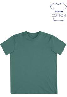 Camiseta Masculina Básica Super Cotton Na Modelagem Regular