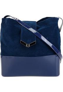 Bolsa Petite Jolie Megan Bag Feminina - Feminino-Azul