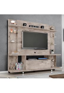 Estante Para Tv Até 55 Polegadas 1 Porta New Torino Móveis Bechara Vanilla Rústico