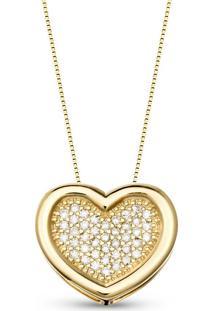 Pingente Ouro Amarelo E Diamantes