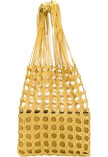 Mehry Mu Fey Market Bag - Dourado