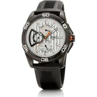 21dc86455fb Relógio Masculino Everlast Pulseira Couro E246 Analógico - Masculino-Preto