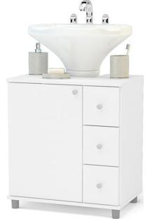 Balcão Para Banheiro 3386, Branco