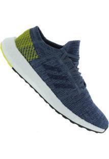 Tênis Adidas Pureboost Go - Masculino - Azul/Amarelo
