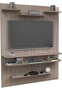 Painel Para Tv Até 55 Polegadas Sigma Vanilla Rústico - Pnr Móveis