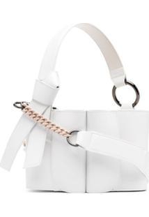 Giaquinto Bolsa Tiracolo Com Cordão De Ajuste - Branco